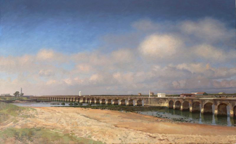 Didier lapène Le pont de la barre Galerie Nicolas Deman